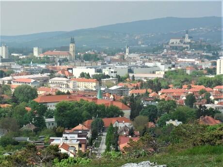 Nitra (pohľad z kalvárie)