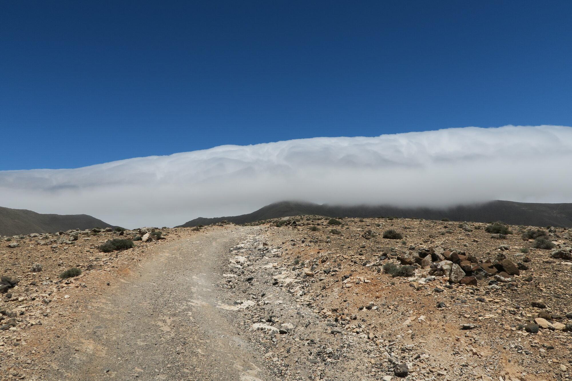 trasa na Pico del Zarza