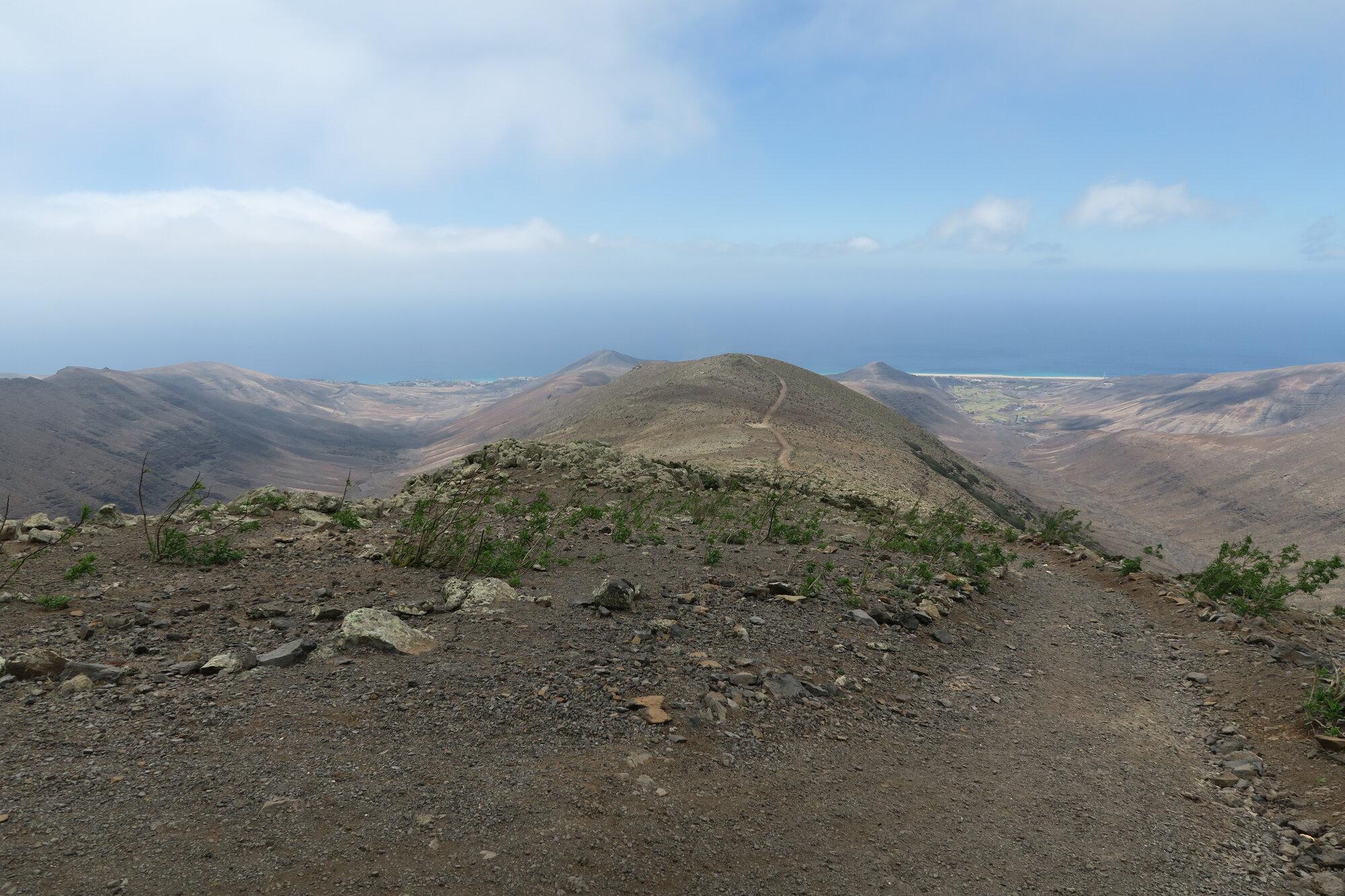 výhledy po cestě na Pico del Zarza