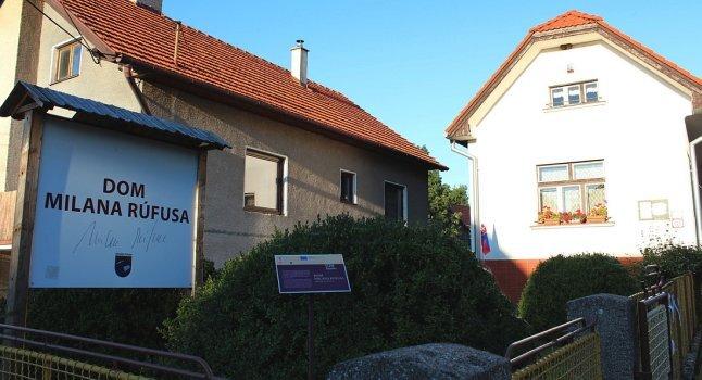 rodný dům Milana Rúfuse