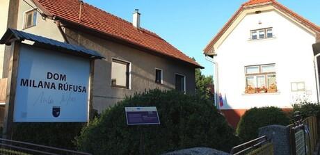 Rodný dom Milana Rúfusa