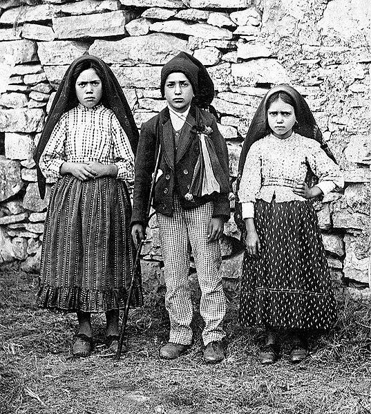 fátimské děti