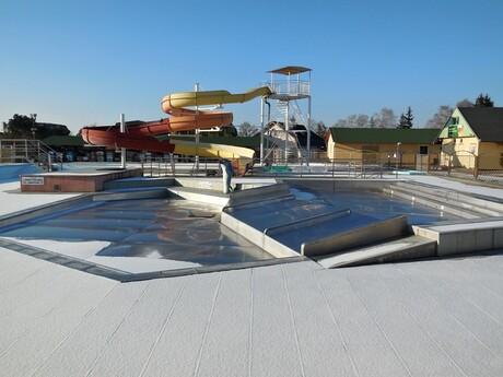 Podhájska - termálny park