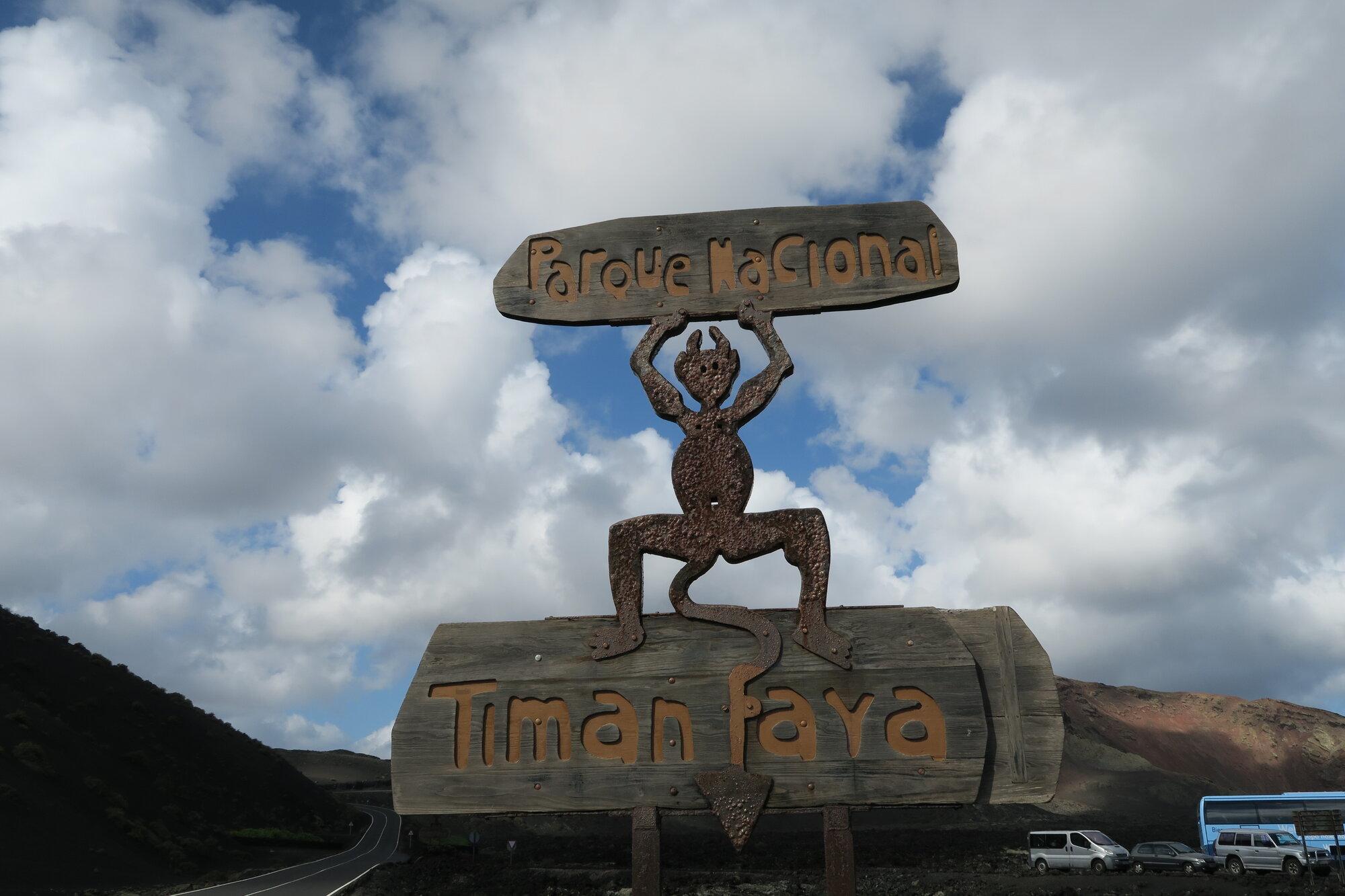 NP Timanfaya vstup