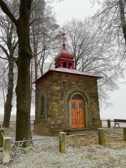 kaple sv. Václava v Nadějově