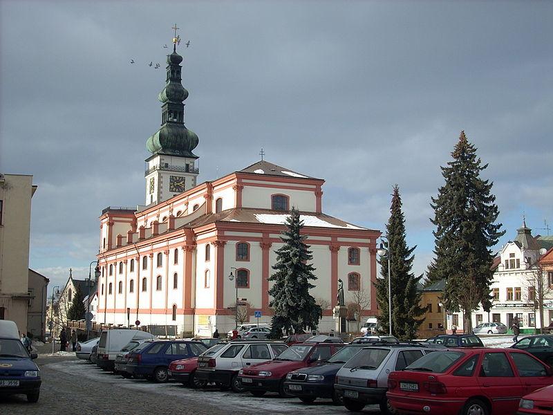 kostel Nanebevzetí panny Marie v Polné