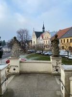 pohled na náměstí v Polné
