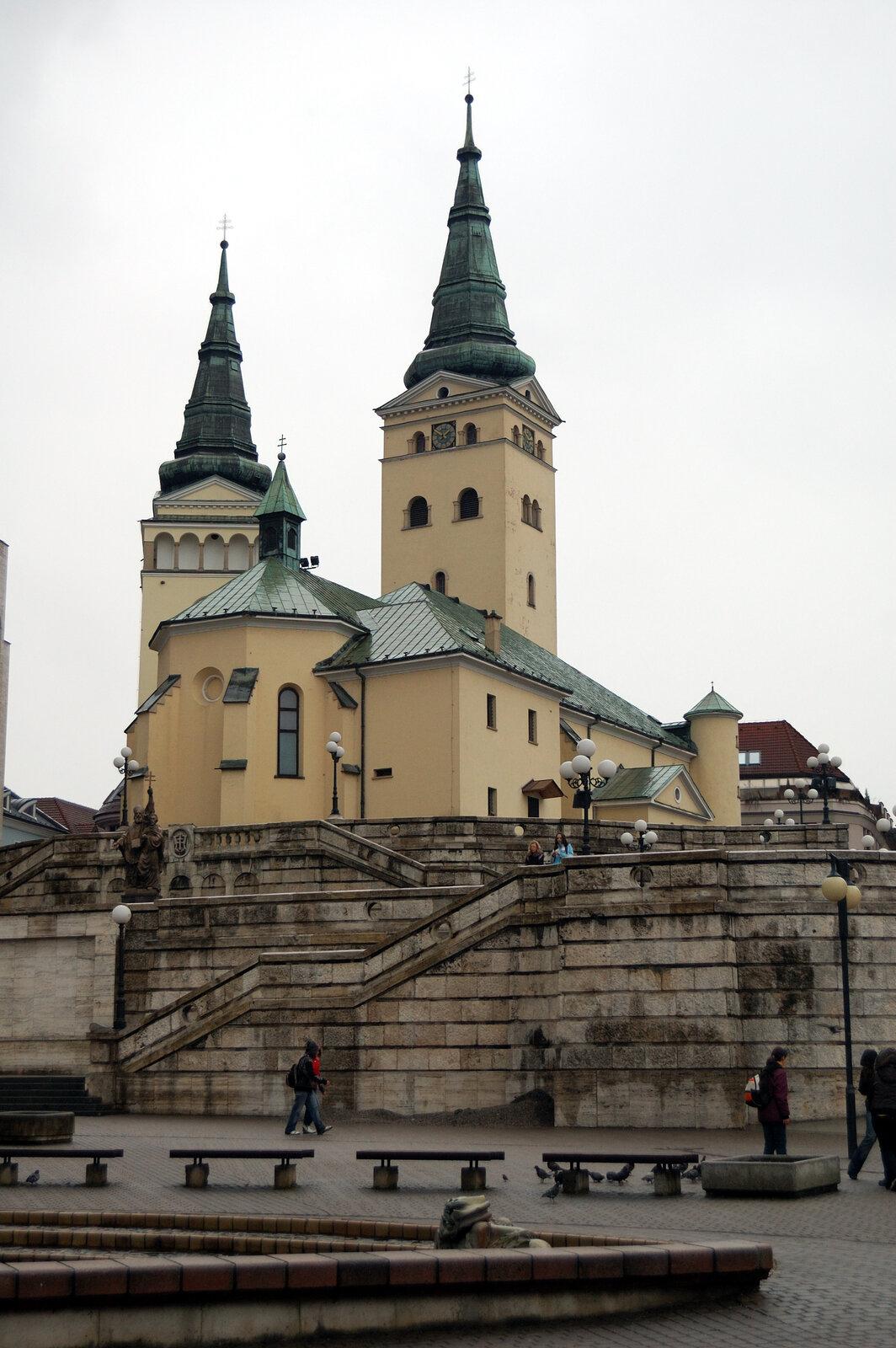 Жилина (собор Святой Троицы)