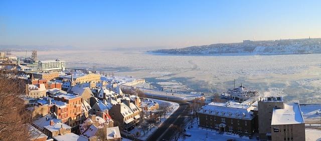 zimní Québec