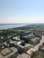 výhled na Québec