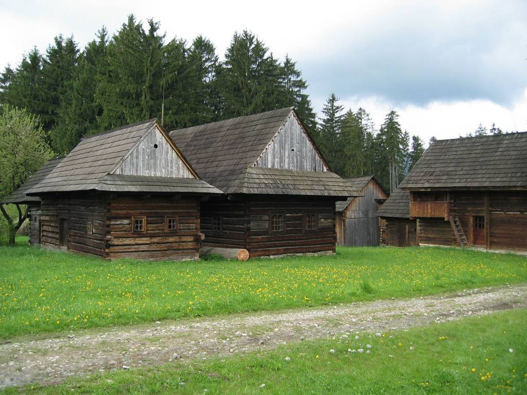 Muzeum slovenské dědiny ve městě Martin