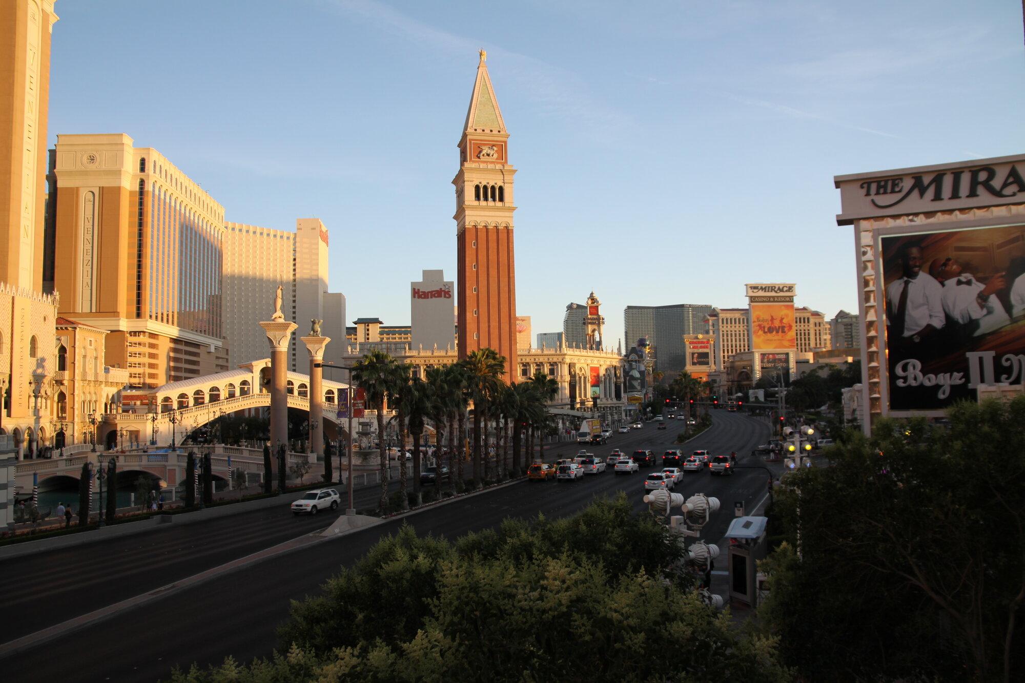 Las Vegas ve dne