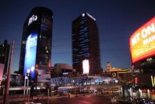osvětlené Las Vegas