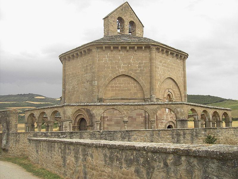 kostel Santa Maria de Eunate