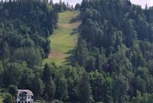 Блед (трасса для бобслея и канатная дорога), гора Стража