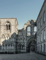 руины аббатства Холируд
