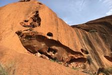 nevšední pohled na Uluru
