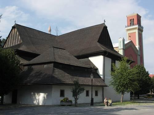 Dřevěný artikulární kostel