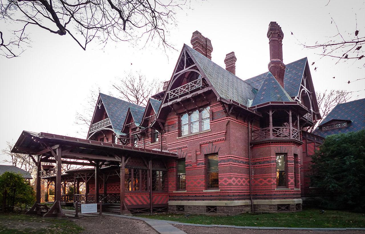 dům Marka Twaina