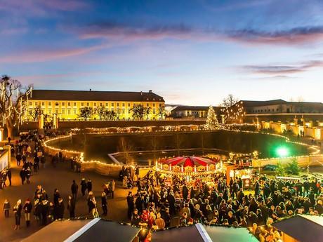 Vianočné trhy na zámku Schloss Hof, (c) SKB Astrid Knie