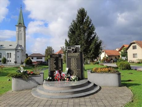 Turany - pamätník