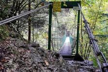 Prielom Hornádu, Slovenský raj (lanový most)