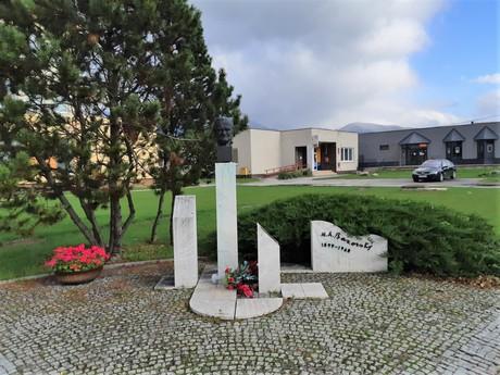 Turany - pamätník Miloša Alexandra Bazovského
