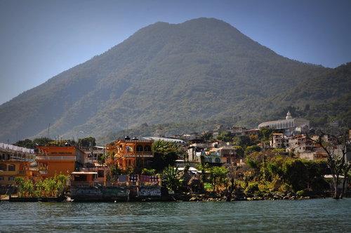 Na jezeře Atitlán