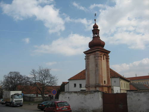 bývalá věznice se zvonicí
