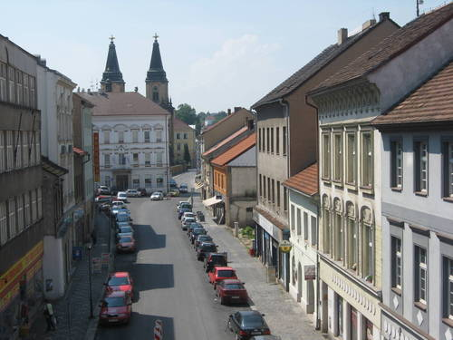 Augustinský klášter - pohled z mostu