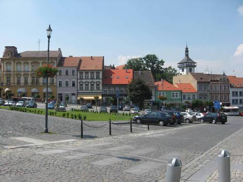 Karlovo (Charles) Square In Roudnice