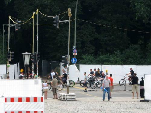 """""""invaze"""" cyklistů v Berlíně"""