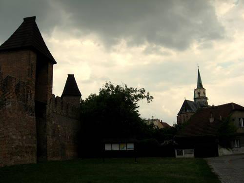 mestske hradby v Nymburce