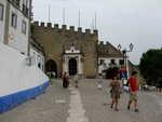 směrem k hradu v Obidos
