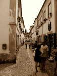 typická ulička - Obidos