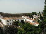 výhledy z hradu v Obidos