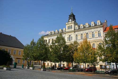 Town hall - Louny