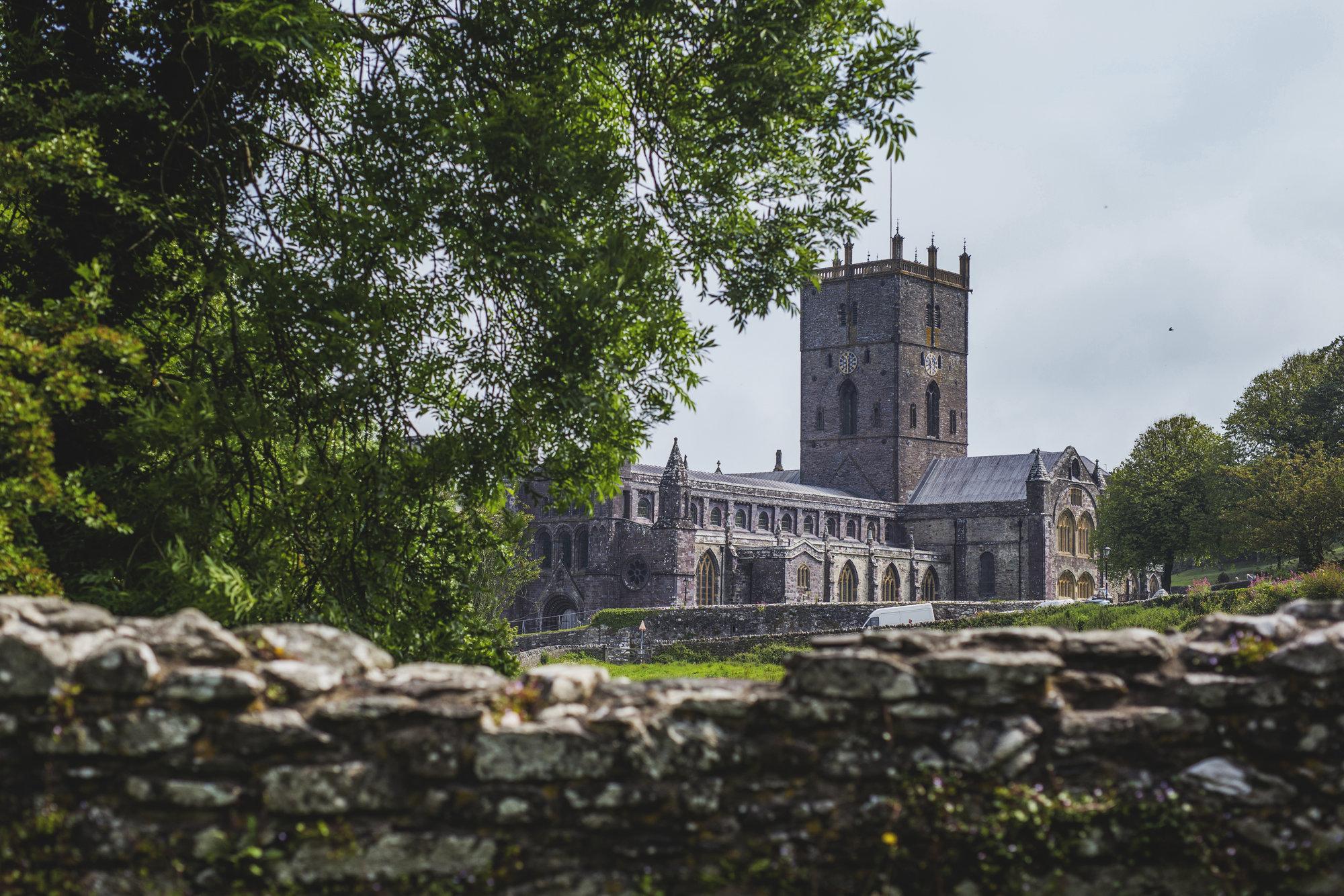 pohled na katedrálu
