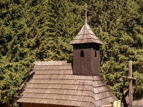Poľana Chochołowska - horalská kaplnka