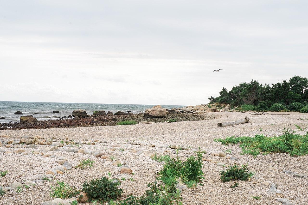 pláž Hammonasset