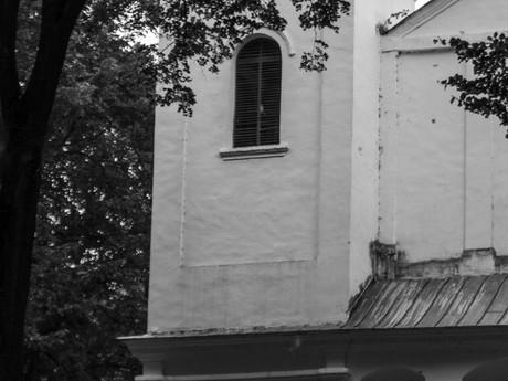 Slanický ostrov umenia, kostol Povýšenia sv. Kríža
