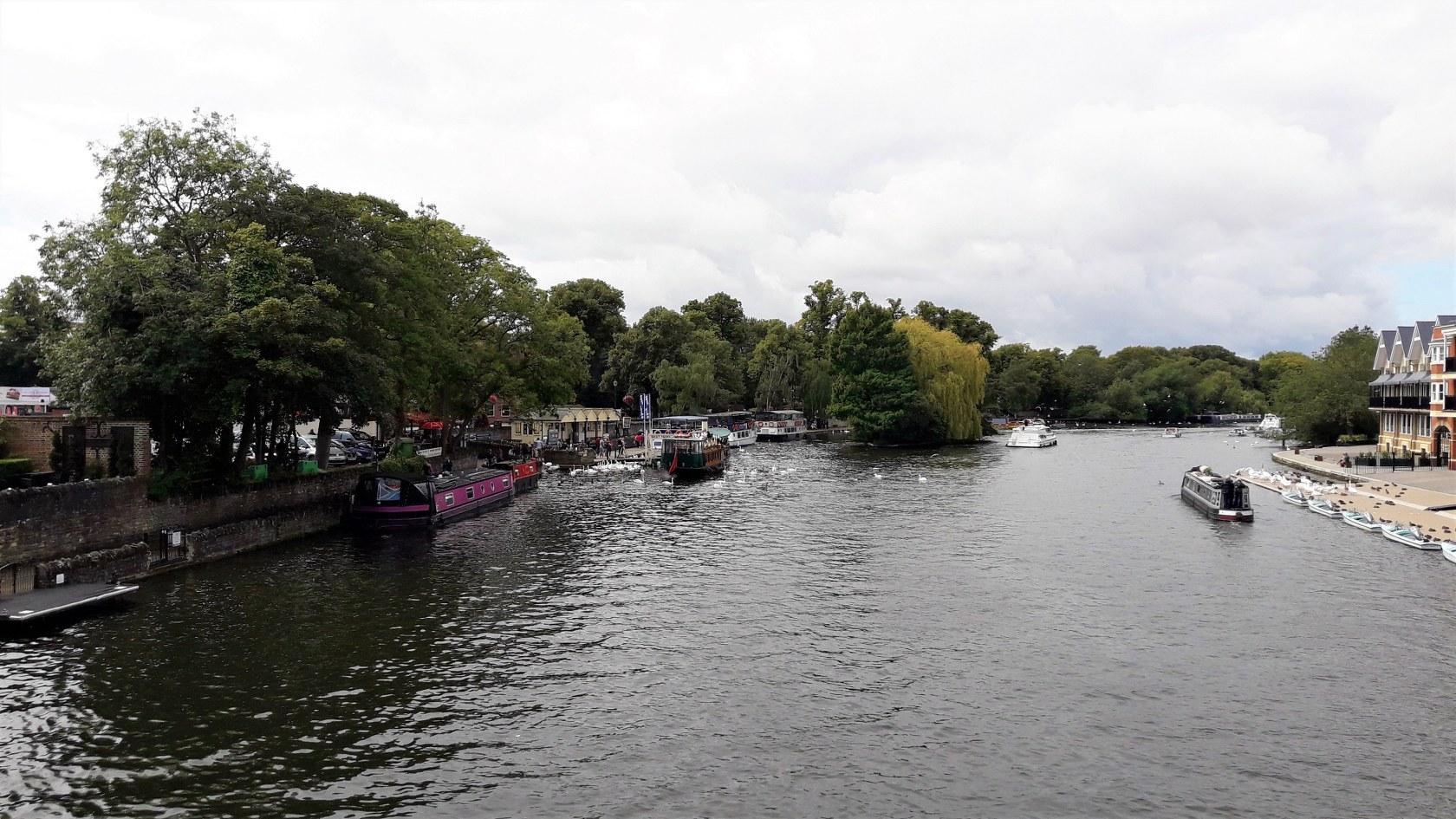 Темза, вид с моста Windsor Bridge