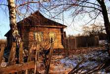 opuštěný domeček vobydlené oblasti