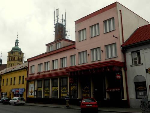 Chlumec nad Cidlinou - Hotel Astra