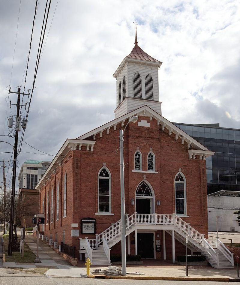 baptistický kostel v Montgomery
