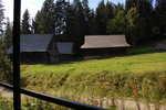 pohled na Museum kysucké vesničky z vláčku