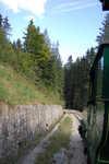 historická lesní úvraťová železnice