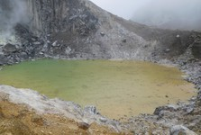 kráterové jezírko