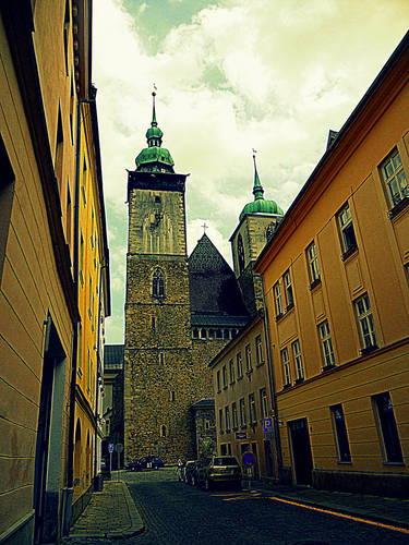 Jihlava - kostel sv. Jakuba
