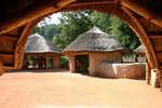 Africká vesnice